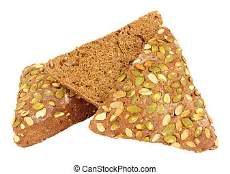 Pumpkin Seed Covered Pumpernickel Bread - Pumpkin seed ...