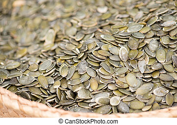 Pumpkin Seeds On The Market