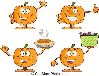 Pumpkin Series 1. Collection Set
