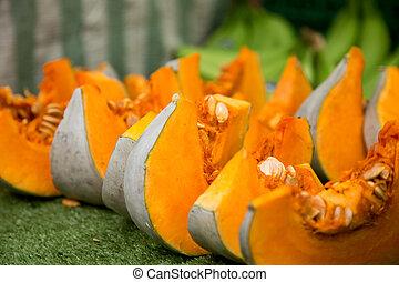 pumpkin slices