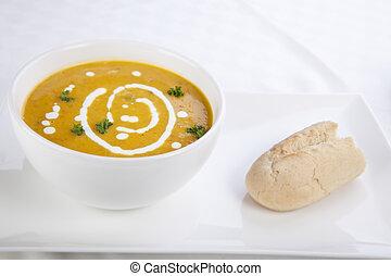 Pumpkin Soup Snack