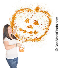 Pumpkin Splatter