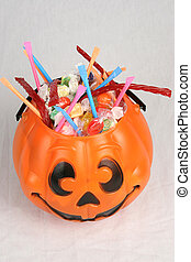 Pumpkin With Candy 2