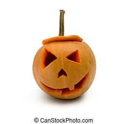 Pumpkin with halloween