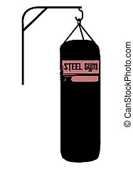 Punch Bag Silhouette