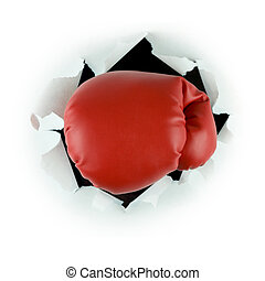 Punch through - Boxing Gloves
