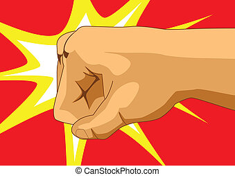 Punch - Vector illustration of a fist