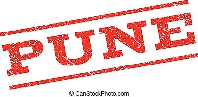 Pune Watermark Stamp - Pune watermark stamp. Text tag...