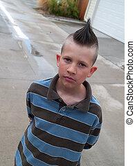 punk, criança