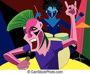 Punk rock.