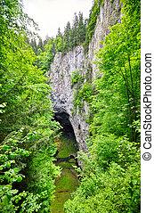 Punkevni cave and Macocha precipice, Czech Republic -...