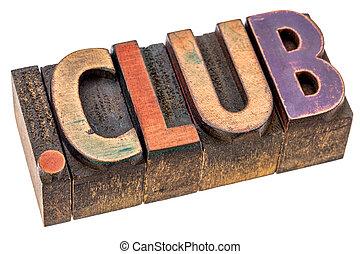 punkt, klub, internet, domäne