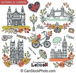 punkty orientacyjny, londyn