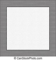 punt, polka, controleren, achtergrond, frame