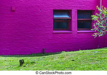 punta, 紫色, del, este, ウルグアイ, 建物
