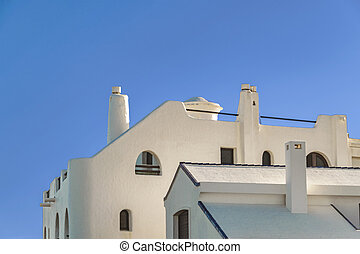 punta, 近所, 建物, 高く, del, este, ウルグアイ, クラス