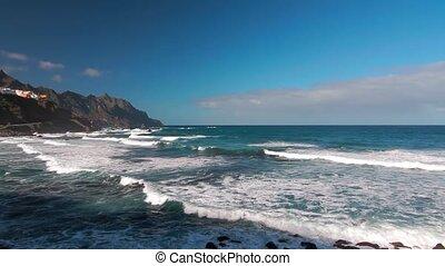 Punta De Santiago Viewpoint, Tenerife, Spain - Graded and...