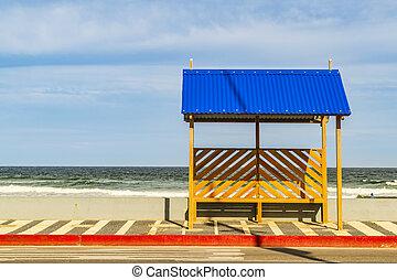 punta del este, la, brava, 浜