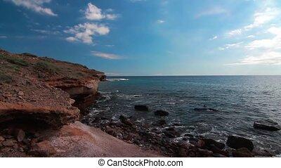 Punta Del Sordo, Tenerife, Spain - Graded and stabilized...