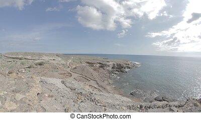 Punta Del Sordo, Tenerife, Spain - Native Material, straight...