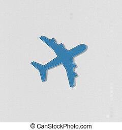 puntada, avión, estilo, ravel