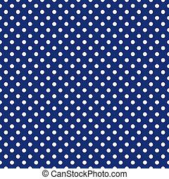 punten, achtergrond, vector, donker, polka