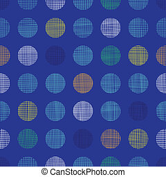 punten, blauwe , model, abstract, polka, seamless, textiel, achtergrond