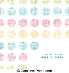 punten, model, abstract, polka, strepen, textiel, achtergrond, hoek, frame