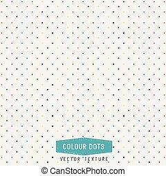 punten, vector, kleurrijke, textuur