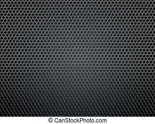 punti, carbonio, fondo