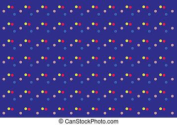 punti, colorato, astratto, struttura, fondo., vettore