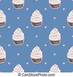 punti, cupcakes, polka