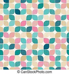 punti, modello, seamless, geometrico