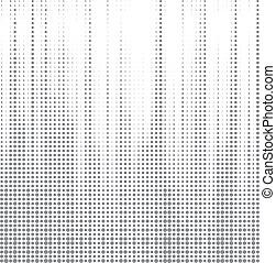 punto, halftone, resumen, vector, plano de fondo