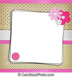puntos, blanco, polca, plano de fondo, papeles, pila