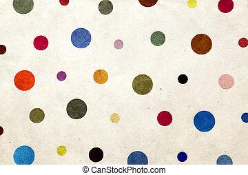 puntos, colorido