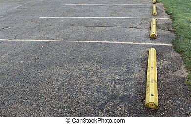 puntos, estacionamiento