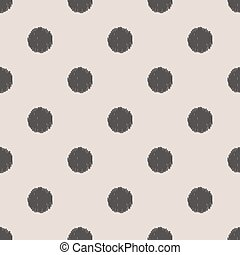puntos, patrón, polca, seamless