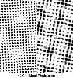 puntos, patrón, seamless, (vector)