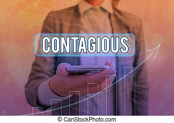 puntos, significativo, significado, achievement., concepto, yendo, o, flecha ascendente, contacto, contagious., actuación, directo, transmissible, indirecto, infected, escritura, individuo, símbolo, texto, denoting