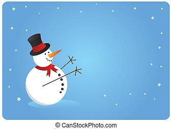 pupazzo di neve, scheda