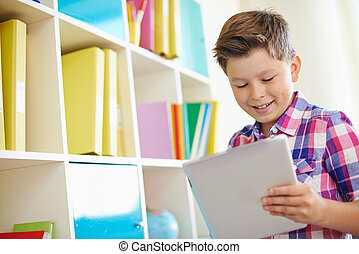 Pupil with touchpad