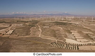 puppe, zoom, aus, riesig, windmühle bauernhof