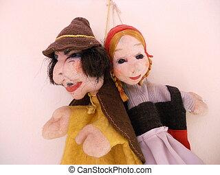 Puppet cloth