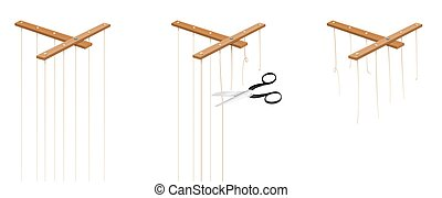 Puppet Strings Intact Cut Freedom - Puppet strings that are ...