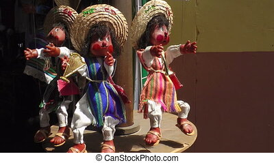 Puppets For Sale in Mexican Market - Puppets for sale in...