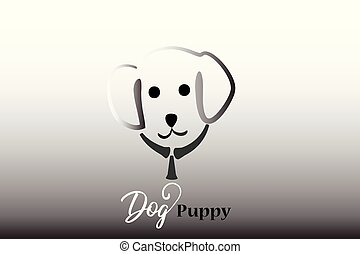 Puppy dog logo