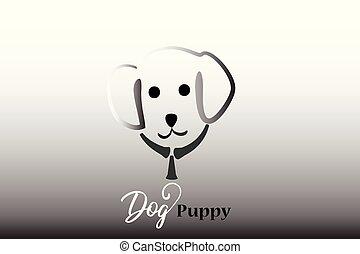 Puppy dog logo
