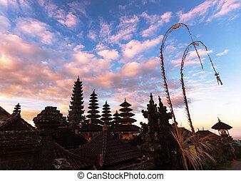 Besakih - Pura Besakih temple,Bali,Indonesia