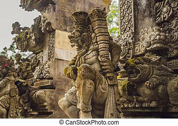 Pura Gunung Lebah. Temple in Bali, Indonesia